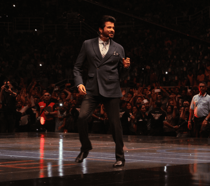 anil kapoor at qnet convention